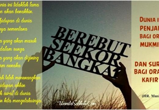 BEREBUT SEEKOR BANGKAI