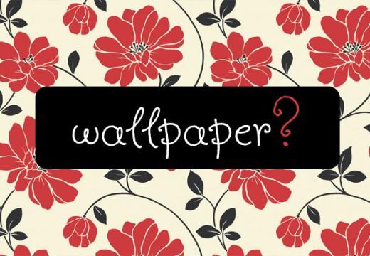 Bolehkan Menghiasi Tembok dengan Wallpaper?