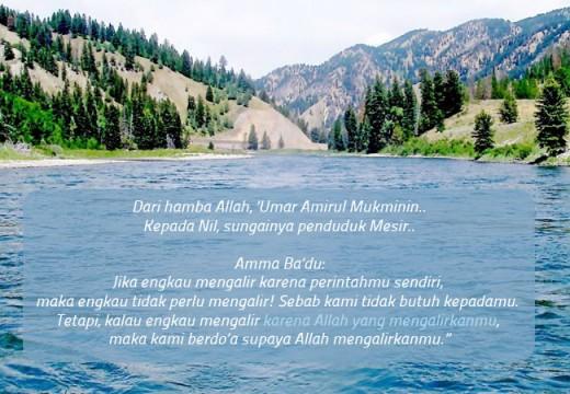 Umar bin Khattab dan Tumbal Untuk Sungai Nil