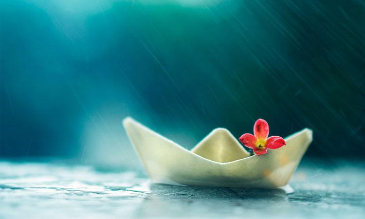 adab ketika hujan