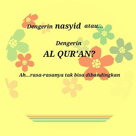 Ingin Mendengarkan Nasyid? Ini Syaratnya