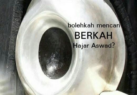 Hukum Mencari Berkah dengan Hajar Aswad