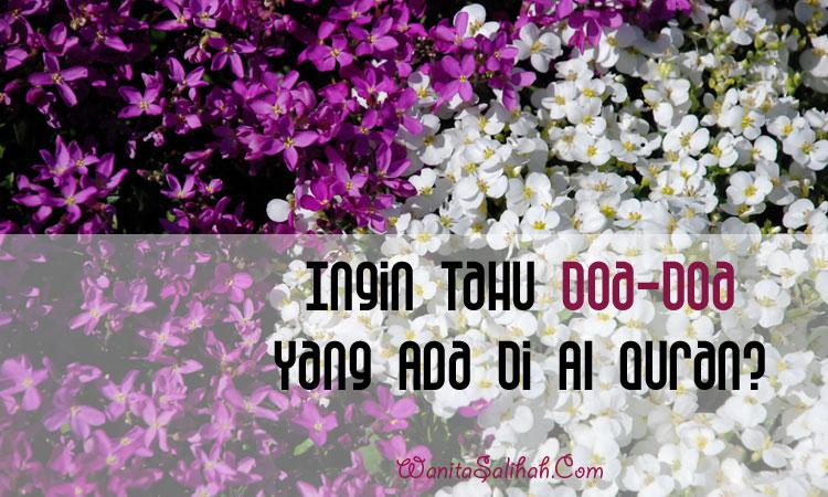 Kumpulan doa dalam Al Quran