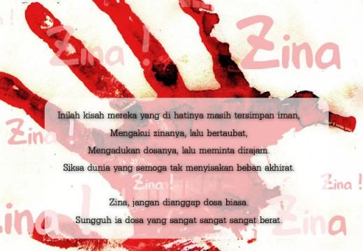 Zina, Jangan Dianggap Dosa Biasa