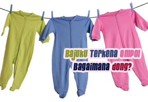 Cara Membersihkan Pakaian Jika Terkena Kencing Bayi