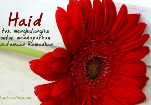 Amal Salih Apa yang Bisa Dilakukan Wanita Haid Pada Bulan Ramadhan?