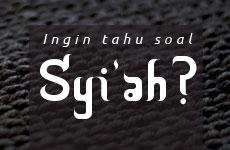 Syi'ah Bukan Islam