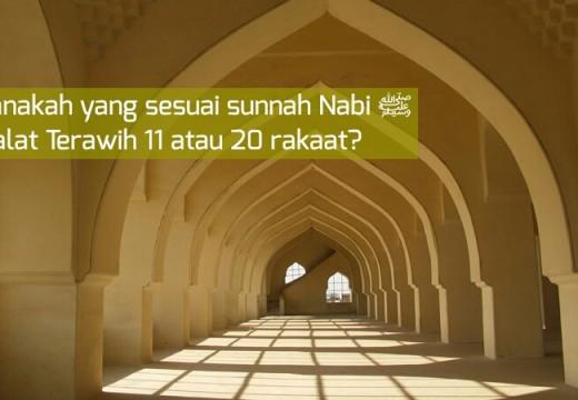 Benarkah Umar Radhiyallahu'anhu Shalat Terawih 20 Raka'at?
