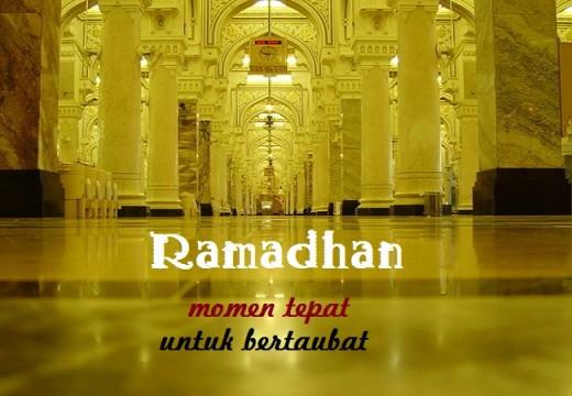 Catatan Ramadhan (7): Jadikan Ramadhan sebagai Momentum untuk Bertaubat