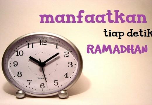 Catatan Ramadhan (4): Dua Cara Mudah untuk Memanfaatkan Tiap Detik Ramadhan Anda