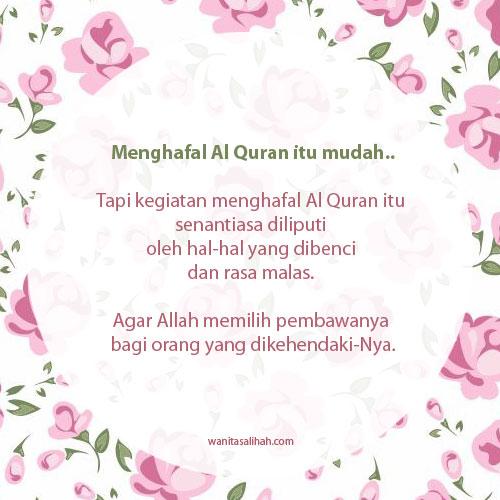 menghafal Al Quran itu mudah